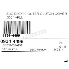 Cometic Clutch Cover Gasket - EC837032AFM