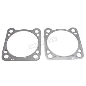 Viton Coated Steel Cylinder Base Gasket .010