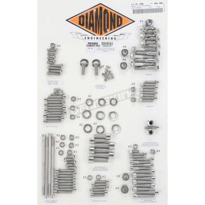 Diamond Engineering Polished Stainless Steel Custom Transformation Kit - DE6031P
