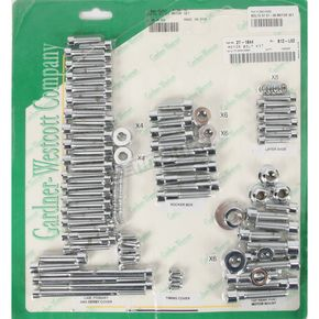 Gardner Westcott Polished Chrome Steel Socket Head Motor Bolt Kit - P-96-76