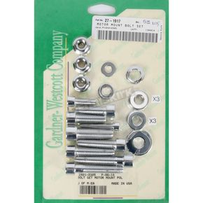 Gardner Westcott Chrome Motor Mount Bolts - P9614