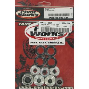 Pivot Works Rear Shock Bearing Kit - PWSHK-Y09-421