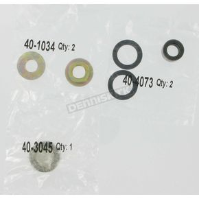 Moose Lower Shock Bearing Kit - 1313-0034