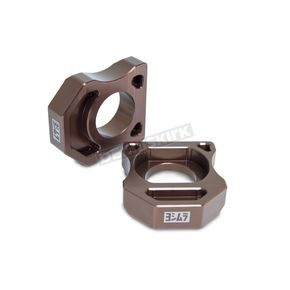Yoshimura Axle Adjuster Blocks - RKABDK