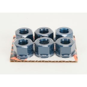 Driven Racing Blue Sprocket Nut - DSNBL