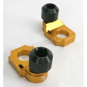 Driven Racing Gold Axle Block Sliders - DRAX-101-GD