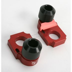 Driven Racing Red Axle Block Sliders - DRAX-101-RD
