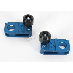 Driven Racing Blue Axle Block Sliders - DRAX-106-BL