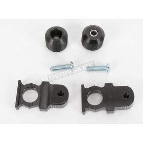 Driven Racing Black Axle Block Sliders - DRAX-103-BK