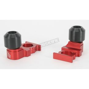Driven Racing Red Axle Block Sliders - DRAX-103-RD