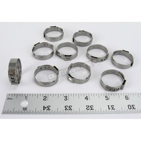Motion Pro 26.9-30.1mm Stepless Hose Clamps - 11-0069