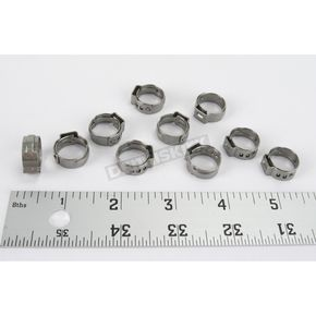 12.0-14.5mm Stepless Hose Clamps - 12-0077