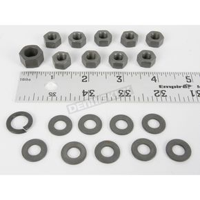 Colony Parkerized Transmission Kicker Cover Nut Kit - 9671-20