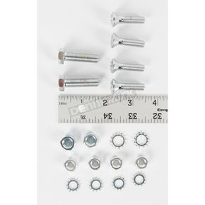 Colony Chrome Rear Fender Mounting Hardware Kit - 8881-18