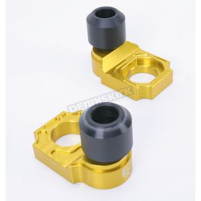 Driven Racing Gold Axle Block Sliders - DRAX-108-GD