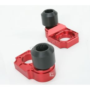 Driven Racing Red Axle Block Sliders - DRAX-108-RD