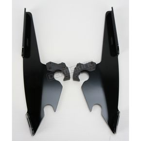 Memphis Shades Black No-Tool Trigger-Lock Plate Only Kit to Change from Sportshield to Fats/Slims or Batwing - MEB8876
