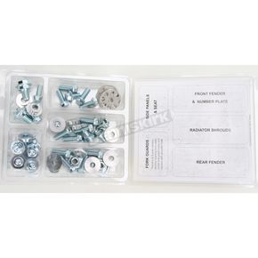 Bolt Motorcycle Hardware Plastics Fastener Kit - HON-0409024
