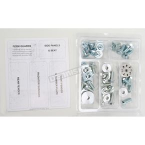 Bolt Motorcycle Hardware Plastics Fastener Kit - HON-0508004