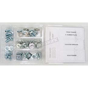 Bolt Motorcycle Hardware Plastics Fastener Kit - HON-0911024
