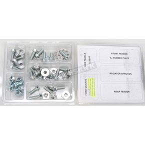 Bolt Motorcycle Hardware Plastics Fastener Kit - SUZ0710020