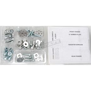 Bolt Motorcycle Hardware Plastics Fastener Kit - SUZ0810004