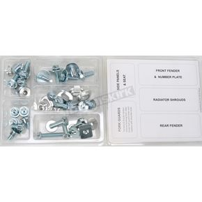 Bolt Motorcycle Hardware Plastics Fastener Kit - YAM0211120