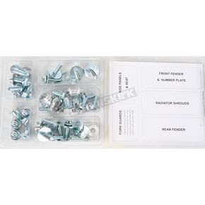Bolt Motorcycle Hardware Plastics Fastener Kit - YAM0610024