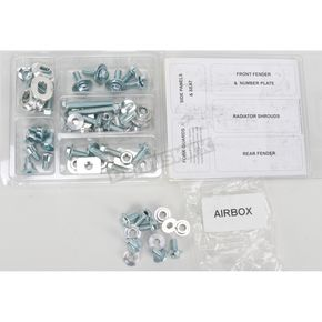 Bolt Motorcycle Hardware Plastics Fastener Kit - YAM1010004