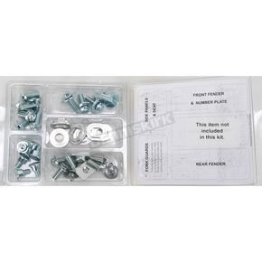 Bolt Motorcycle Hardware Plastics Fastener Kit - YAM1010004G