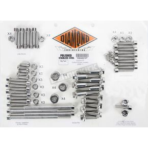 Diamond Engineering Polished Stainless Steel OEM-Style Engine Kit - DE6521P