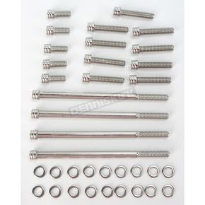 Diamond Engineering Polished Stainless Steel The Groove Primary, Inspection Covers and Inner Primary Kit - DE5341GP