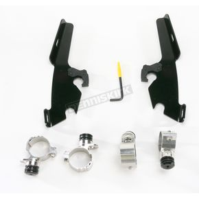 Memphis Shades Night Shades Black No-Tool Trigger-Lock Hardware Kits for Fats/Slim or Batwing - 2321-0222
