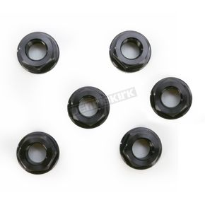 Driven Racing Black Aluminum Sprocket Nut for Ducati 6-Bolt Hubs - DSN6BK