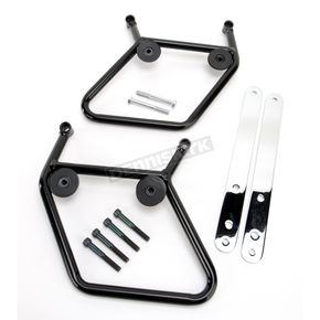 National Cycle Black Mounting Hardware for Cruiseliner Saddlebags - KIT-SB403