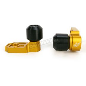 Driven Racing Gold Axle Block Sliders - DRAX-112-GD