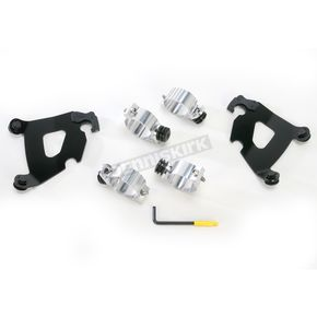 Memphis Shades Black Trigger-Lock Hardware Kit for Cafe Fairing - MEB1994