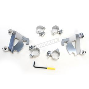 Memphis Shades Polished Trigger-Lock Hardware Kit for Cafe Fairing - MEK1997