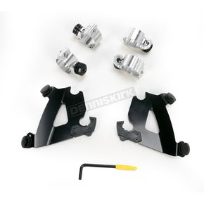 Memphis Shades Black Trigger-Lock Hardware Kit for Cafe Fairing - MEB1997