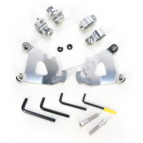 Memphis Shades Polished Trigger-Lock Hardware Kit for Cafe Fairing - MEK1996