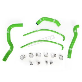 Moose Green Race Fit Radiator Hose Kit - 1902-0973