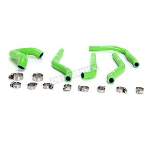 Moose Green Race Fit Radiator Hose Kit - 1902-0979