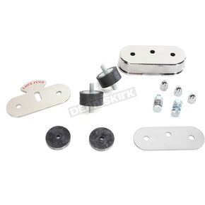 Polished Stainless Vibration-Master Mounting Kit - VM