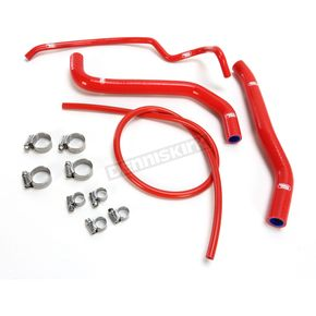 Moose Red OEM Fit Radiator Hose Kit  - 1902-1177