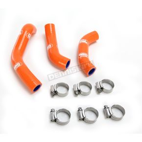 Moose Orange Race Fit Radiator Hose Kit - 1902-1184