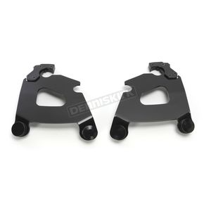 Memphis Shades Black Mount Kit for Cafe Fairing - MEB1725