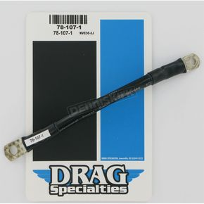 Drag Specialties Black 7 in. Battery Cable - 78-1071