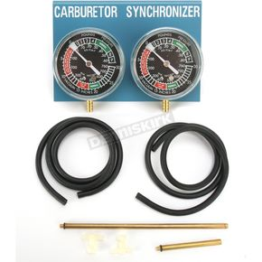 Parts Unlimited Carburetor Synchronizers - 2-carb set - 3804-0004
