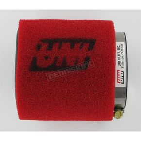 UNI Two-Stage Pod Filter w/Straight Flange - 3 in. I.D. x 4 in. L - UP-4300ST