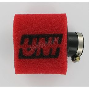 UNI Two-Stage Pod Filter w/Angled Flange - 1 1/16 in. I.D. x 3 in. L - UP-4112AST